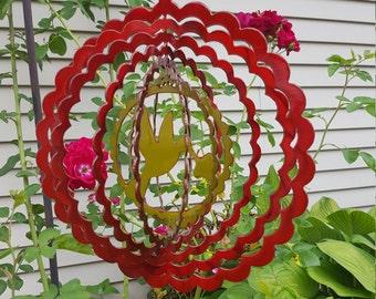 Humming Bird Garden Wind Spinner