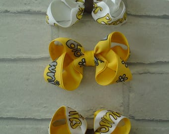 Brownies hair clip brownies clips brownies hair accessory brownies accessories brownies bows ribbons clips