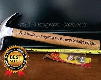 Personalised hammer, Laser Engraving, Custom Laser Engraving, Engraved Hammer, Personalized Hammer