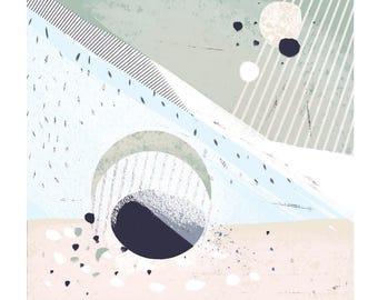 Abstract Giclée print
