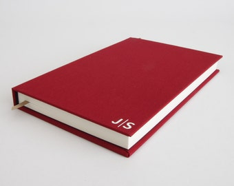 Monogram Notebook - Personalized Gift Idea for Men / Gift Idea for Women - Classic Gift