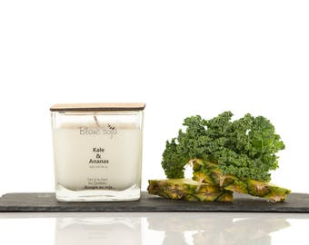 Kale and pineapple Soy Candle