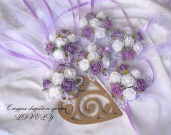 Purple Wedding Bridesmaid Jewelry Bracelet, Bridesmaids Bracelet, Bridal Party Bracelet,   Bridal Bracelet, Weddings, Bridesmaids, Jewelry
