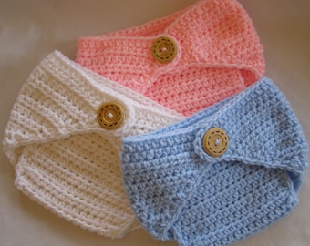 PATTERN Diaper Cover - Crochet