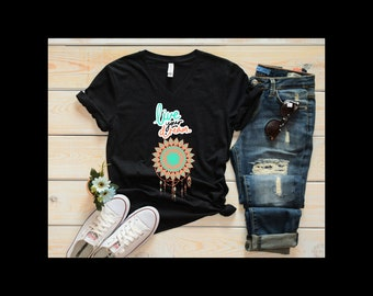 DREAMCATCHER Shirt, Women's clothing, tops and tees, Live Your Dream t-shirt