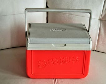 Vintage Bubblicious Mini Promotional coleman Cooler