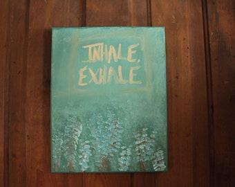 Inhale, Exhale Wall Decor