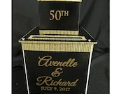 Two-Tier Custom Card Box ...