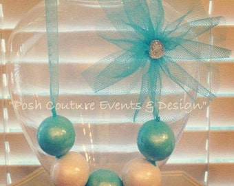 Gumball Necklace/ Candy Necklace/ Edible Necklace/ Party Favor Necklace/ Bridal Favor/ Gift Favor