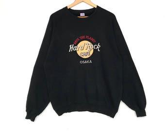 HARD ROCK OSAKA Sweatshirt X-large Size