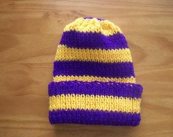 Team Spirit Purple/Gold Hat