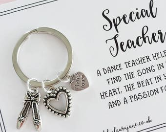 Thank you Dance Teacher keepsake gift
