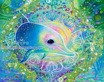 Dolphin Medicine Mandala