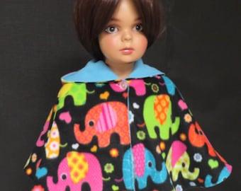 Baby poncho, baby elefant poncho, baby girl poncho, baby fleece poncho, baby girl poncho, baby poncho, baby clothing.