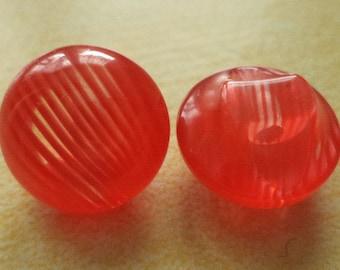 12 buttons 13mm red (4660) button