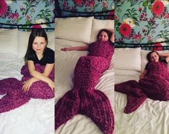 "The ""Ariel"" Mermaid Fishtail Blanket"