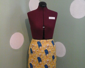 Simpsons Pencil Skirt
