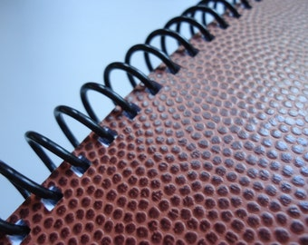 Textured Football Notebook (Two Available)