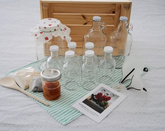Kombucha Kit: Deluxe Home Brewing Kit