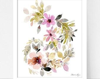 Art Print Hydrangea and Provence Twirl