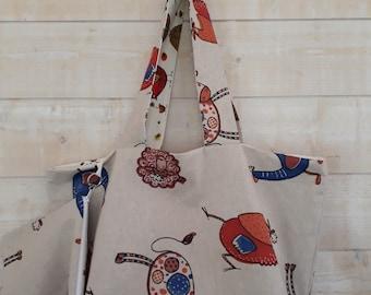 """""""Grade"""" beach bag cotton"""
