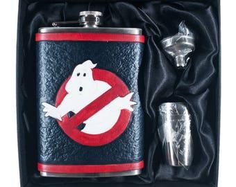 Ghostbusters Geek Flask Set