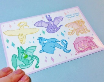 Dragons Sticker Sheets