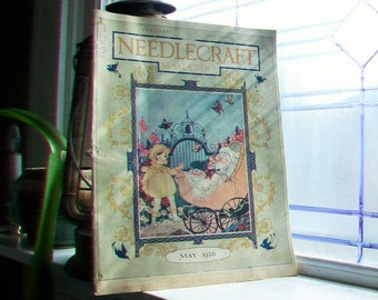 1926 Needlecraft Magazine May Issue Vintage 1920s Sewing