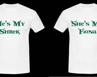 Star Wars Couple Shirts - She's my Princess He's My Scoundrel khiPSOwN