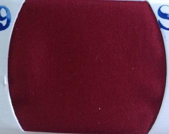 Plain cotton lawn fabric, bordeaux no39