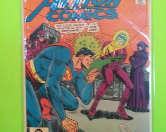 Action Comics # 532 Superman Vs Lois Lane H.I.V.E On Cover VF-NM Condition Atom Backup Story 1981 DC Comics Vintage Comic Book