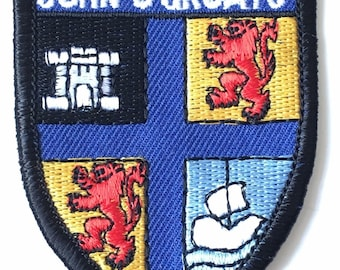 John O Groats Embroidered Patch