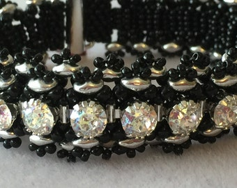 Black Lacy Bracelet