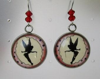 pair of earrings fairy