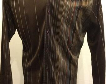 1970's Mens Disco Shirt Chemise Et Cie