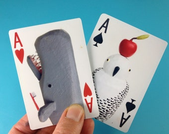 Bunny with a Toolbelt Multifunctional Playing Card Deck