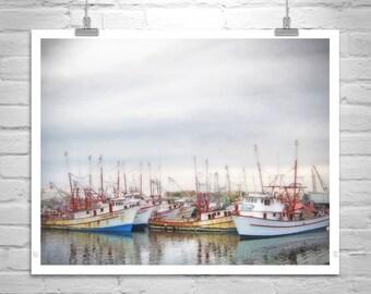 Rocky Point Picture, Sea of Cortez Art, Mexico Photography, Puerto Penasco Art, Nautical Art, Old Fishing Boats, Marina Photo, Harbor Photo