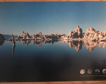 Poster Posters Pink Wish You Were Here Mono Lake  Art Wall Decor Wall Art 25 x 35