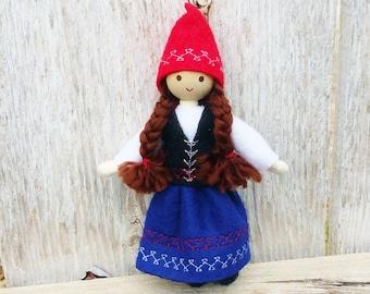 Christmas Elf - Scandinavian Elf - Bendy Doll - Kindness Tradition - Caring Elves - Christmas Elves - Norwegian - Swedish - Danish