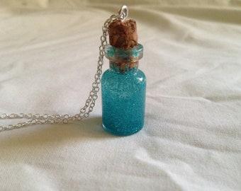 Fairy Dream Charm Bottle Pendent