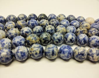 Sodalite Beads Natural Beads Sodalite Beads 8mm 10mm 12mm Beads for Jewelry Making Mala Beads Bracelet Beads Necklace Beads Gemstone Beads