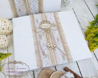 Rustic Photo Album, Personalized Photo Album, Wedding Photo album, Custom Wedding Gift  Wedding Gift Rustic Photo Gifts