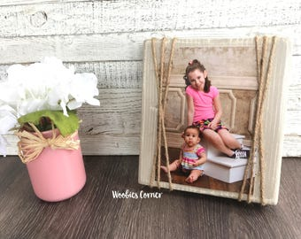 Distressed wood frame, Rustic home decor, Farmhouse frames, Custom picture frame, Picture frame 5x7, Wood picture holder, Distressed frames