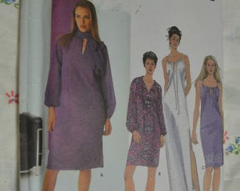 Simplicity 9490 Misses Dresses - Relaxed Fit Sewing Pattern UNCUT Size 12 14 16 18
