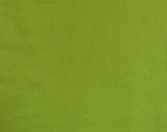 Fabric, light lime green cotton