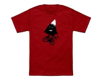 Kid's & toddler's Mountain Biking  graphic T-shirt