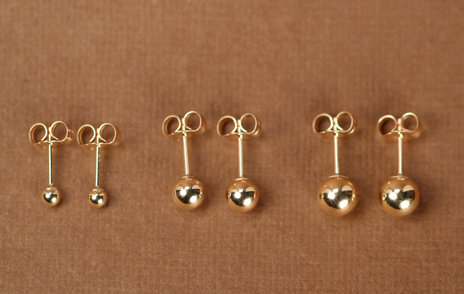 stud gold image tiny earrings products solid or white belladaar yellow baby