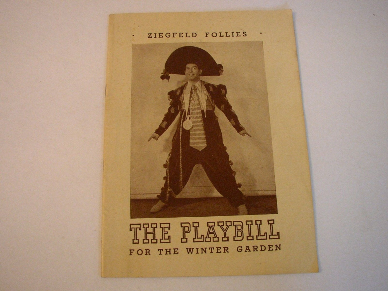 Playbill 1943 Winter Garden Theatre Ziegfeld Follies Milton
