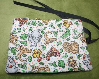 New Animal, Elephant, Kangaroo, Bird, Monkey,Alligator, Crayon Roll, Crayon Holder, Crayon  Accessory, Toddler, Kids, Boys, Girls, SEWBUSY12
