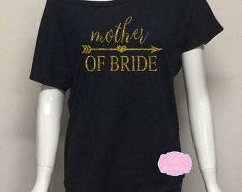 Mother of Bride. Bridal Party Shirt. Maid of Honor Shirt. Bridesmaid Shirts. Bridal Tank. Bride Shirt. Bachelorette Shirts.